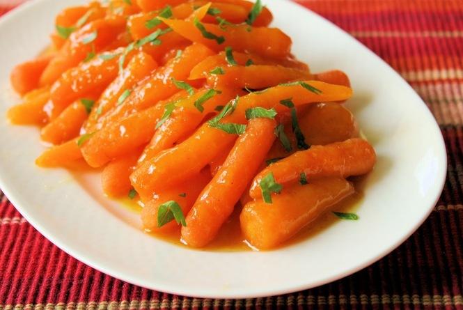 Морковка на гарнир
